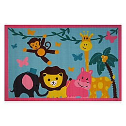 Fun Rugs™ Jungle Party 3-Foot 3-Inch x 4-Foot 10-Inch Area Rug