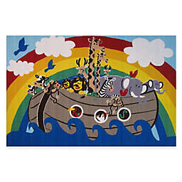 Fun Rugs® Animal Boat 4-Foot 10-Inch x 3-Foot 3-Inch Area Rug