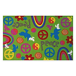 Fun Rugs™ Peace & Harmony 3-Foot 3-Inch x 4-Foot 10-Inch Rug