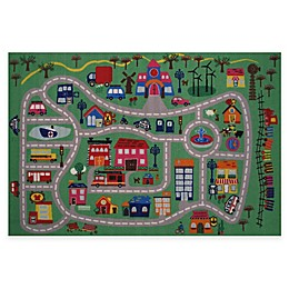 Fun Rugs™ Fun Time Fun City 4-Foot 10-Inch x 3-Foot 3-Inch Rug