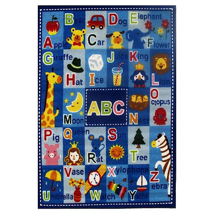 Alternate image 1 for Fun Rugs™ Fun Time Letters and Names 4-Foot 10-Inch x 3-Foot 3-Inch Rug
