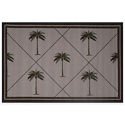 Fun Rugs™ Fun Time Palm Fronds 4-Foot 10-Inch x 3-Foot 3-Inch Rug