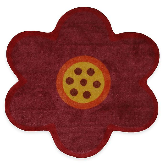 Alternate image 1 for Fun Rugs™ Fun Time Pink Poppy 3-Foot 3-Inch Round Rug