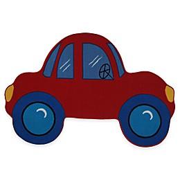 Fun Rugs™ Fun Time Car-Shaped 4-Foot 10-Inch x 3-Foot 3-Inch Rug