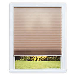 Redi Shade Easy Lift Cordless Pleated 64-Inch Length Soft-Spun Shade