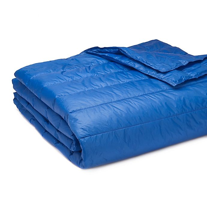 Alternate image 1 for Pouf Full/Queen Blanket in Electric Blue