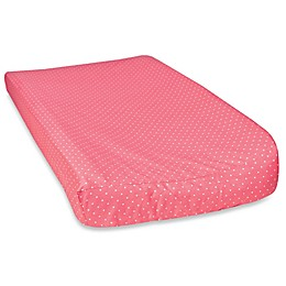 Trend Lab® Coral Dot Changing Pad Cover