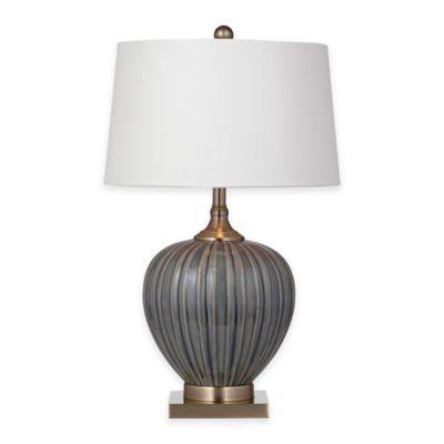 Bassett Mirror Company Williston Table Lamp In Blue Grey Bed Bath