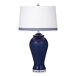 Bassett Mirror Company Hasting Table Lamp in Navy