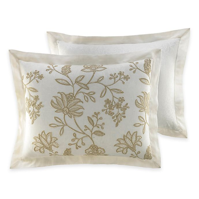 Alternate image 1 for Croscill® Devon Pillow Sham in Natural