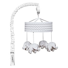 Trend Lab® Ombre Chevron Musical Mobile in White/Grey