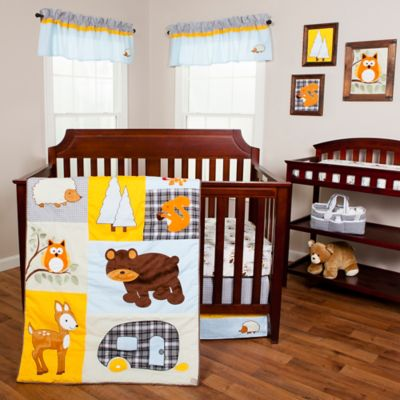 Trend Lab 174 Let S Go Camping Crib Bedding Collection