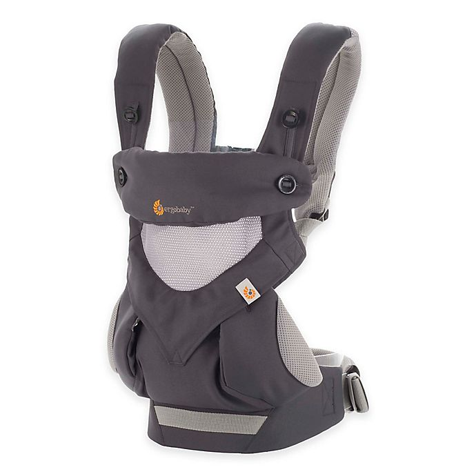 Alternate image 1 for Ergobaby™ Four-Position 360 Cool Air Baby Carrier in Carbon Grey