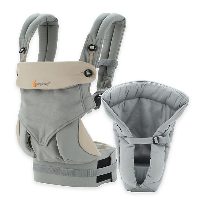 Alternate image 1 for Ergobaby™ Four-Position 360 Carrier Bundle of Joy Baby Carrier in Grey