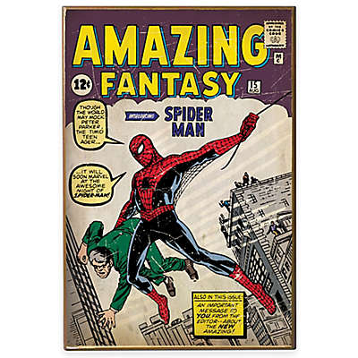 Spiderman Fantasy 1st Appearance Wall Decor Plaque