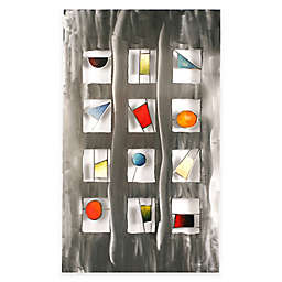 Primaries Steel Wall Art Sculpture