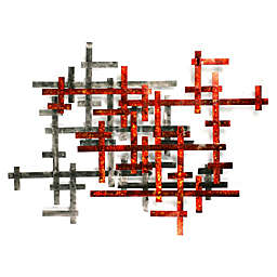 Scaffolds Abstract Wall Sculpture