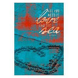 "Courtside Market ""All You Need is Love"" Canvas Wall Art"