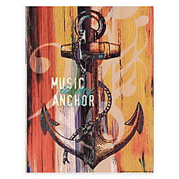 Courtside Market My Anchor Canvas Wall Art