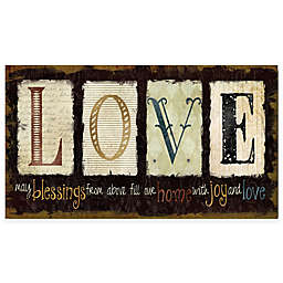 Courtside Market Love Gallery Canvas Wall Art