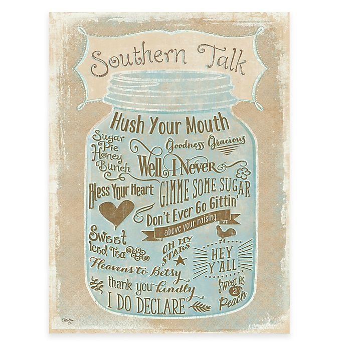 Alternate image 1 for Courtside Market Southern Talk Gallery Canvas Wall Art