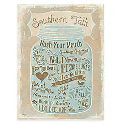 Courtside Market Southern Talk Gallery Canvas Wall Art