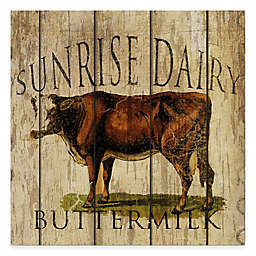 Courtside Market Sunrise Dairy Buttermilk Gallery Canvas Wall Art