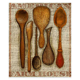 Courtside Market Wooden Spoons Gallery Canvas Wall Art