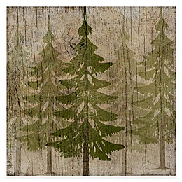 Courtside Market Pine Tree Forest Gallery Canvas Wall Art
