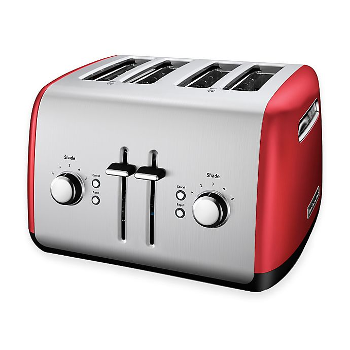 Alternate image 1 for KitchenAid® 4-Slice Toaster in Empire Red