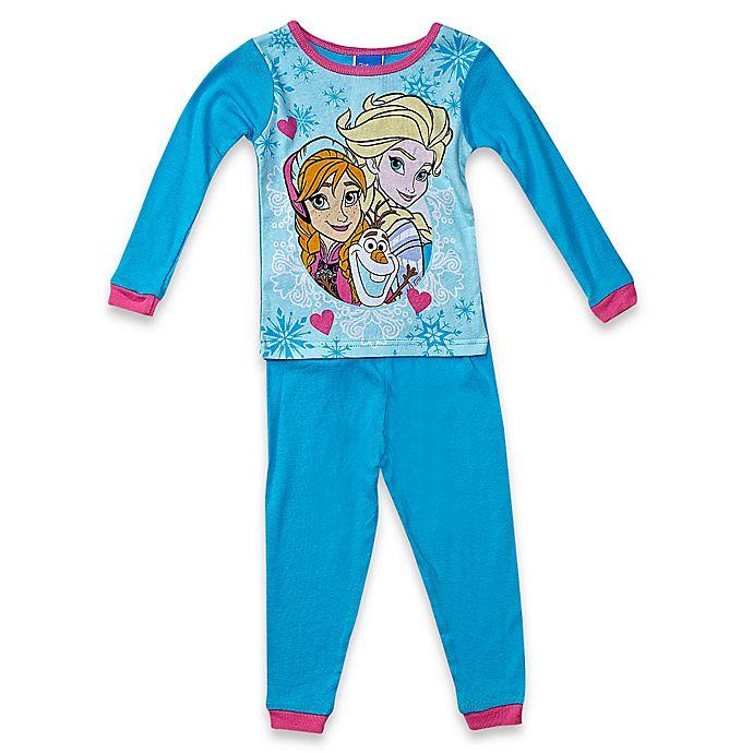 960e13359 Disney® Frozen 2-Piece Pajama Set in Blue