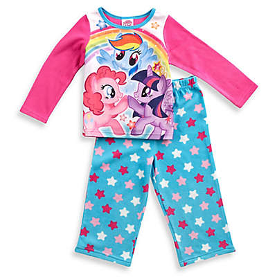 My Little Pony® 2-Piece Long-Sleeve Pajama Set in Pink