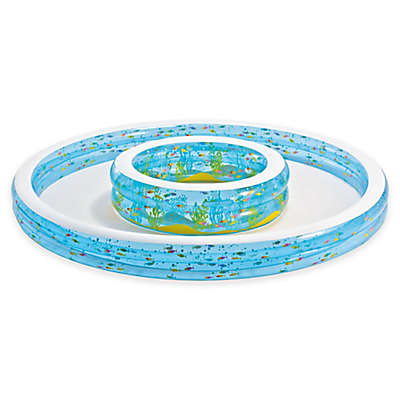 Intex® Wishing Well Pool with Sprayer in Blue