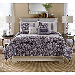 Helena Pillow Sham in Purple