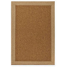 Miami Sisal Indoor/Outdoor Area Rug in Tan