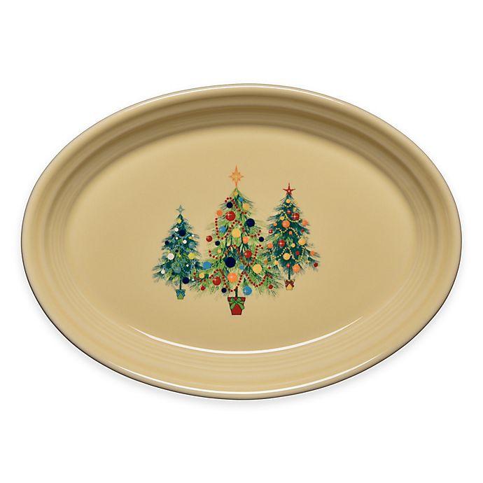 Alternate image 1 for Fiesta® Christmas Tree Trio Small Oval Platter