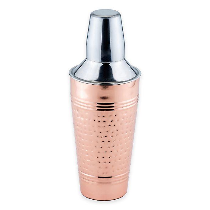 Alternate image 1 for Old Dutch International Fez Décor Hammered Copper Cocktail Shaker