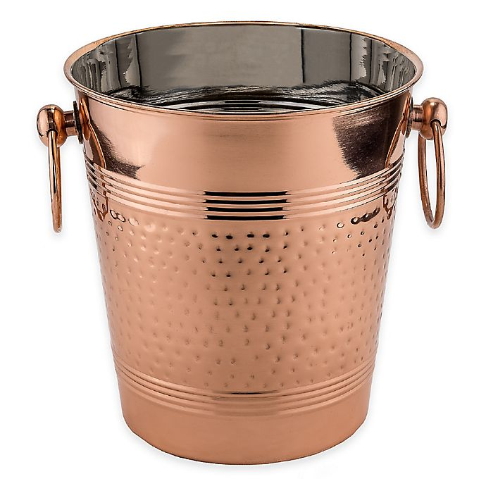 Old Dutch International Fez Copper Plated Ice Bucket | Bed