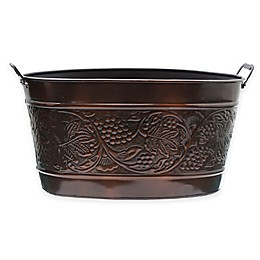 Old Dutch International Antique-Copper-Plated Heritage Beverage Tub in Antique-Copper
