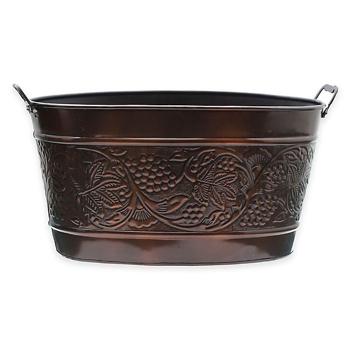 Alternate image 1 for Old Dutch International Antique-Copper-Plated Heritage Beverage Tub in Antique-Copper