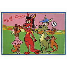 Fun Rugs® Dancing Kelli Roo 3-Foot 3-Inch x 4-Foot 10-Inch Accent Rug