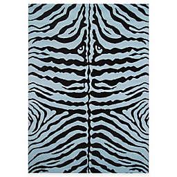 Fun Rugs™ Zebra-Print Skin Rug