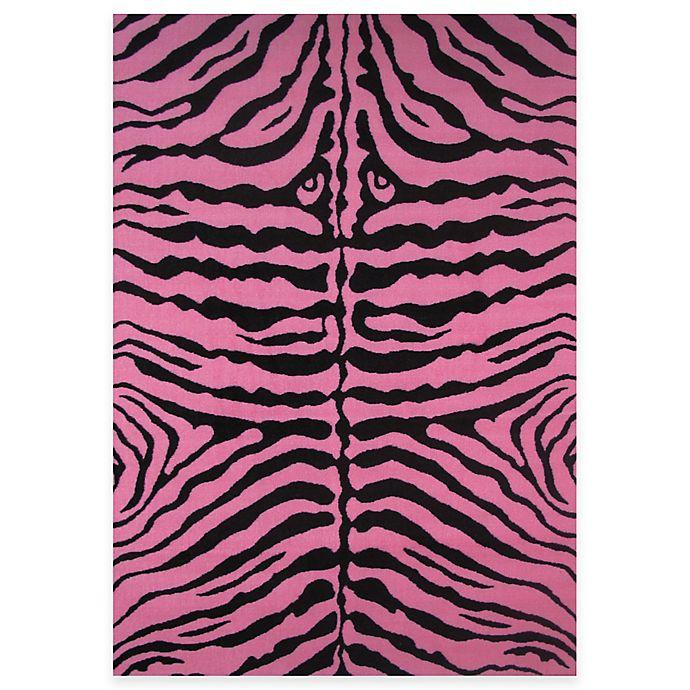 Alternate image 1 for Fun Rugs™ Zebra Print Rug