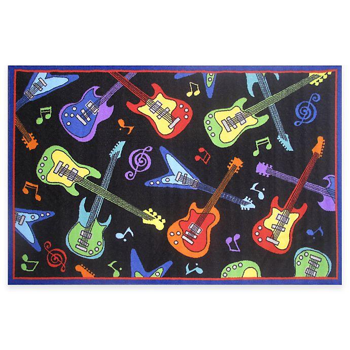 Alternate image 1 for Fun Rugs™ Guitar Rug