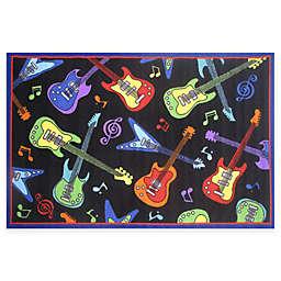 Fun Rugs™ Guitar 4-Foot 3-Inch x 6-Foot 6-Inch Rug