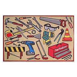 Fun Rugs™ Fun Toolbox 3-Foot 3-Inch x 4-Foot 10-Inch Rug