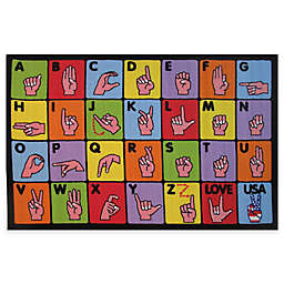 Fun Rugs™ Sign Language Rug
