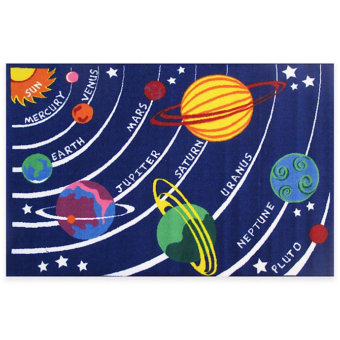 Alternate image 1 for Fun Rugs™ Fun Time Solar System Rug