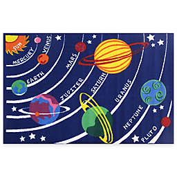 Fun Rugs™ Fun Time 8-Foot x 11-Foot Solar System Area Rug