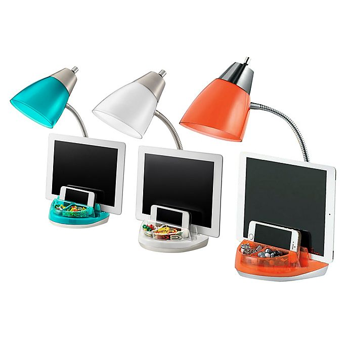 Alternate image 1 for Equip Your Space Organizer Desk Lamp